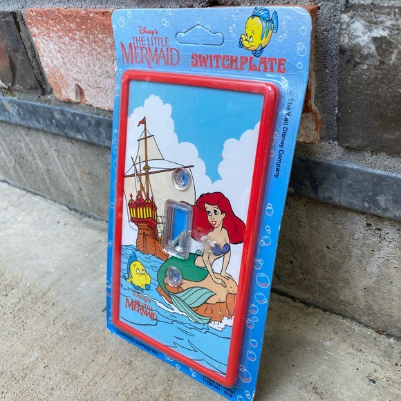 THE LITTLE MERMAID Vintage Switch Plate